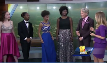 BSA Students Model Spring Prom Fashions